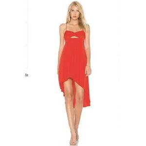 NWT BCBG MAX AZRIA $268 SCARLET RED SABRYNA Dress